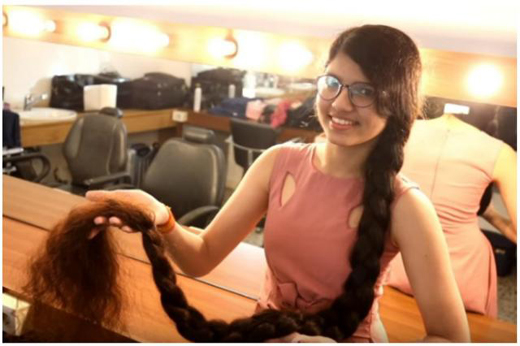 Gujarat S Rapunzel Wins Record For Longest Hair On A Teenager