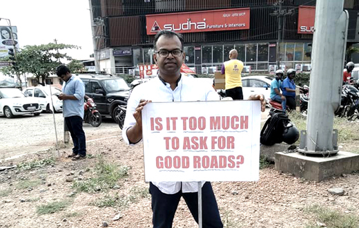 Nanthoor Protest