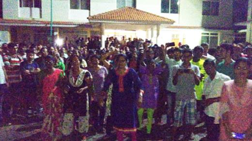 shirva parish protest