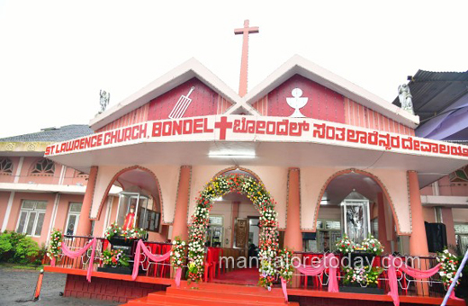 Bondel church feast celebrated, Bishop exhorts prayer, help for rain