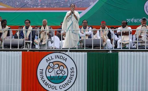 Kolkata: Mamata Banerjee's mega rally a hit as anti-BJP parties unite