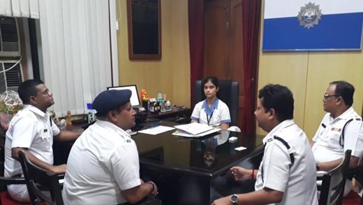 Richa Singh of Kolkata who bagged 4th rank in ISC exam made DCP for
