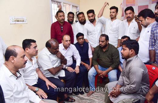 Kumaraswamy visit to bunder