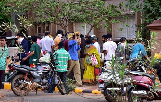 clampdown in Dakshin Kannada