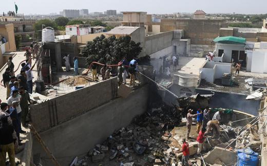 Pakistan Airlines crash