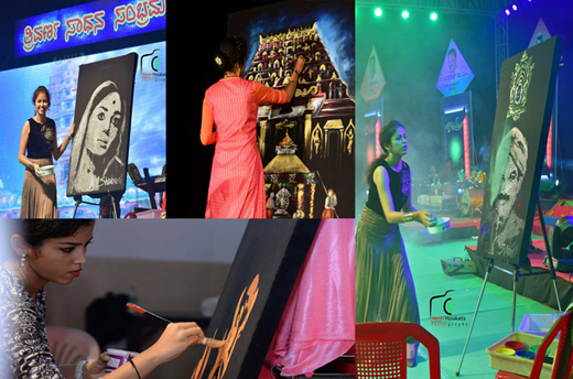 Relativ Karavali's first known lady speed painter is here EQ82