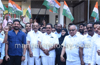 Mangaluru : Congress protests against resort politics of BJP