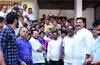 Mangaluru : Congress workers, leaders celebrate Priyanka Gandhi's entry into active politics