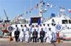 Commissioning of Indian Coast Guard Interceptor Boat C-448