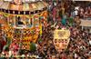 Mangaluru: Grand finale of �Kodial Teru� of Shree Venkataramana Temple, Car Street