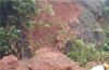 Landslide  near Bejai Battagudda ; traffic affected
