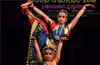 Narthana Talodari : Mesmerizing duet classical dance performances by sisters