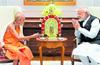 Udupi Pejawar pontiff meets PM Modi