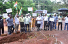 Congress protests against slow progress of Kadri park road works