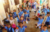 Sahyadri conducts awareness programme on the benefits of drinking water at Govt school