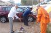 Week 7,Shramadan by RK Mission clean City Railway station area, January 20