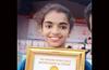 Udupi girl sets the record for fastest 100m �Chakrasana race�