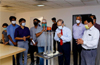 Vanora Anti COVID Disinfecting Robot launched at Tejaswini Hospital