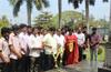Mangaluru : Tributes paid to Pulwama martyrs at war memorial