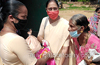 Ursuline Sisters, Generalate, help in Corona crises