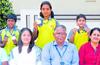 National-level swimming Yenepoya students selected