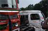 4 members of family die as car-gas tanker collide near Brahmarakootlu