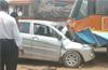 2 dead in KSRTC bus - car collision near Panemangalore