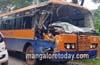 Bantwal: Several injured in KSRTC bus- tipper collision