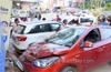 Mangaluru: Four injured in  car accident in Kodialbail
