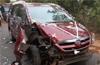 Bantwal: 3 injured as lorry hits car
