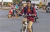 Mangaluru: A delivery boy with a positive message
