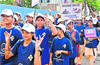 Diabetes awareness �Rally�  by nursing studentsheld in Udupi