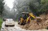 Massive landslides on Charlady Ghat road : Vehicular traffic suspended