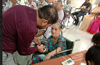 Health camp marks Gandhiji�s 150th birth anniversary at Nympha Sadan