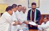 Mangaluru :  Mithun Rai files nomination
