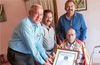 Lifetime Achievement Award on Sri Pangal Rabindra Nayak: DK Automobile & Tyre Dealers Association