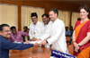 Rahul Gandhi files nomination from Wayanad, sister Priyanka with him