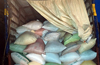 Illegal transportation of over 9 tonnes rice ; 2 arrested