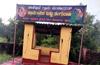 Miscreants deface Shivaji banner at Kairangala bus shelter
