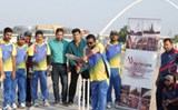 Doha: Sixth M Pallonji cricket tournament begins on flying note
