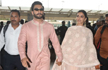 Deepika-Ranveer Return to Mumbai to Continue Festivities