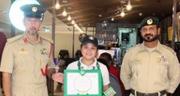 Dubai Police awards Barista for returning bag filled with Cash