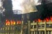 Mumbai: Massive fire breaks out at GST Bhavan in Mazagaon