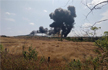 Navy�s MiG jet crashes in Goa, pilots eject safely