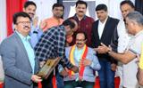 Nagathihalli Chandrashekhar visits Qatar for movie premiere