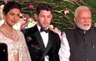 PM Modi attends Priyanka-Nick's wedding reception in Delhi