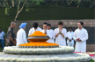 Rajiv Gandhi : 75th Birth Anniversary: Congress Leaders Pay Tribute