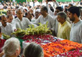 Former Delhi CM, Sheila Dikshit cremated with full state honours