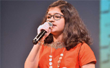 Dubai-based Indian teen wins Global Child Prodigy Award for twin world records in Singing