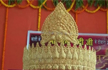 Man offers 1.25 kg gold crown at temple on Modi's birthday